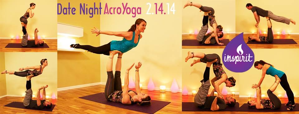 date night acro yoga