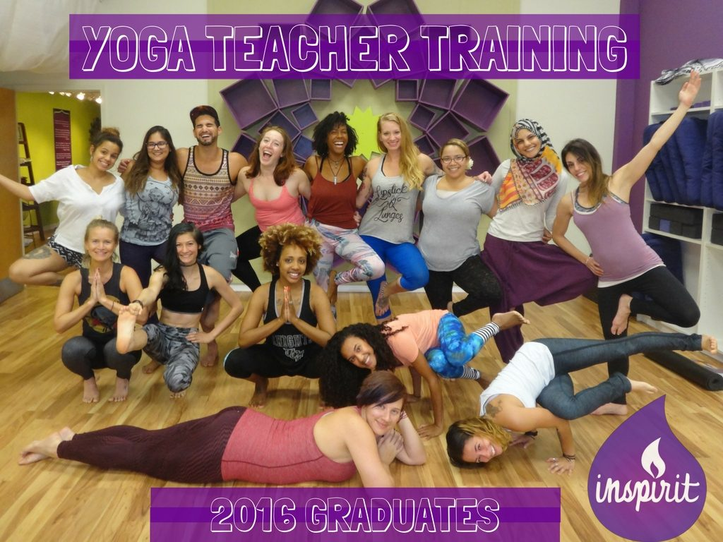 Yoga Teacher Training Graduates- Summer Immersion 2016