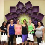 Prenatal Yoga Class with gifts from MacroBaby!