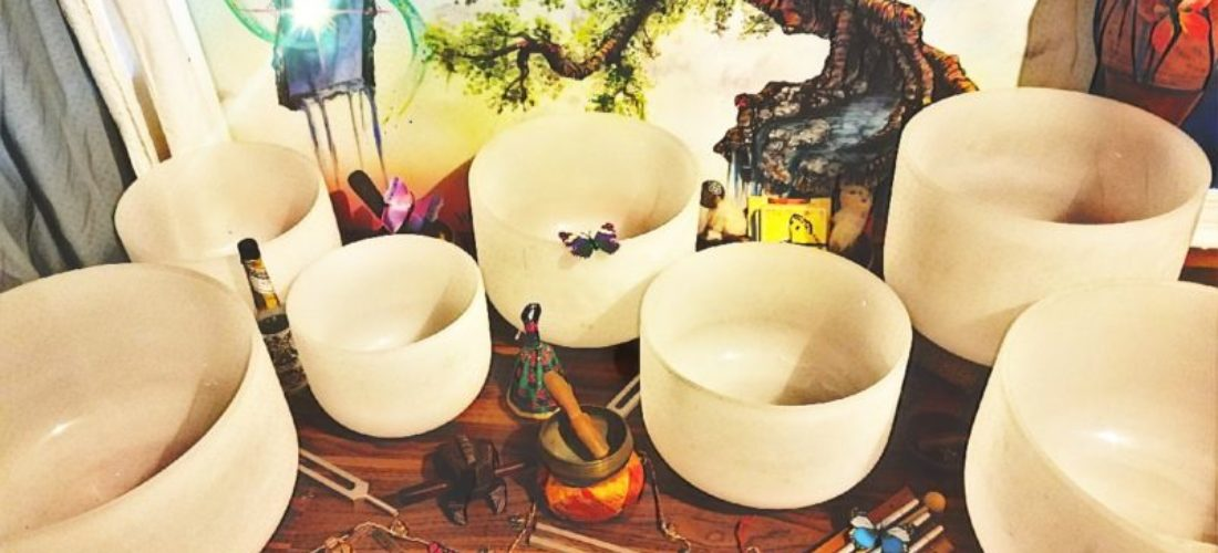 Sound Meditation with Crystal Singing Bowls