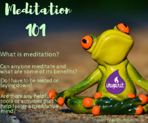 Meditation and achieving a peaceful mind.